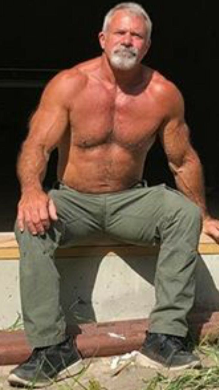 Hairy gay mature