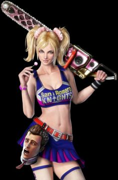 Sexy girls in video games