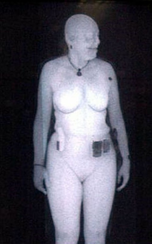 X ray of naked girls
